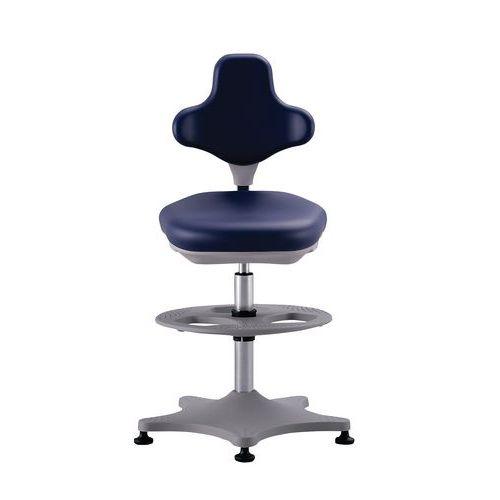 Cadeira de laboratório alta Bimos Labster 9101