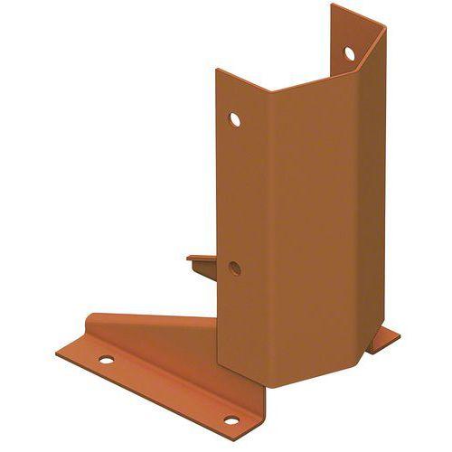 Calço de proteção para montante de ilharga Stock-Pallet – Mecalux