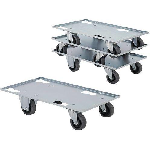 Plataforma móvel em metal – capacidade de 300kg