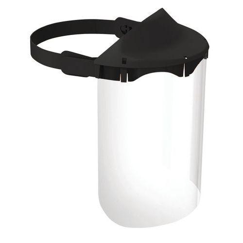 Viseira antiprojeções reutilizável FLEXI com máscara rebatível