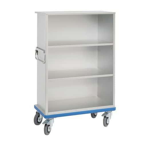 Carro-armário em alumínio sem porta G®-CUP Light – Gmöhling