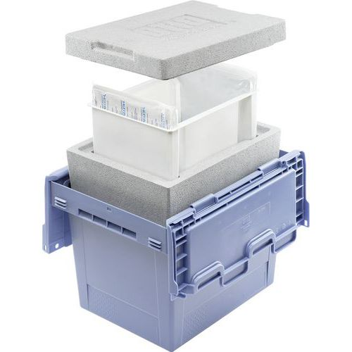 Caixa de transporte com isolamento térmico – Bito