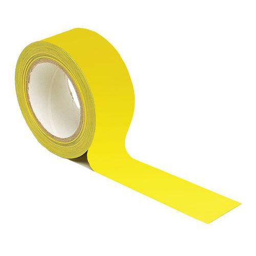 Fita adesiva de marcação do pavimento para distanciamento social – amarelo
