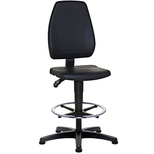 Cadeira de oficina ErgoSupport - Alta