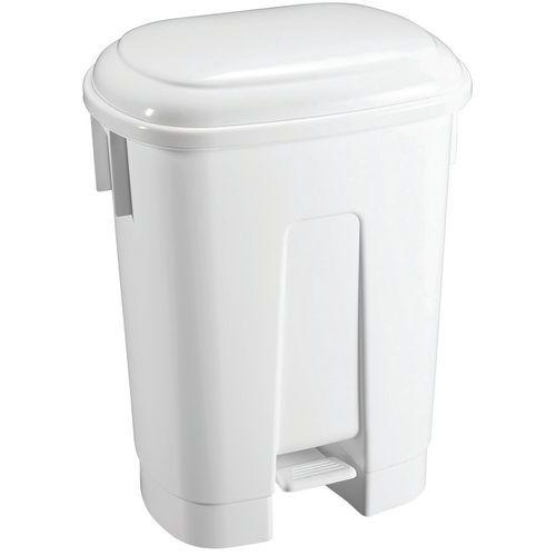 Caixote de lixo com pedal DERBY – 60L – TTS