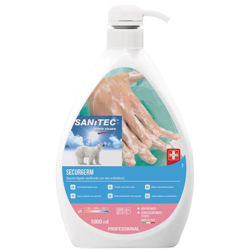 Sabão líquido para as mãos – 1L – Sanitec