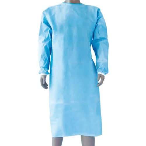 Bata cirúrgica impermeável – Conjunto de 5