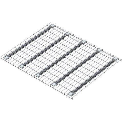 Plataforma gradeada em aço Stock-Pallet – Mecalux