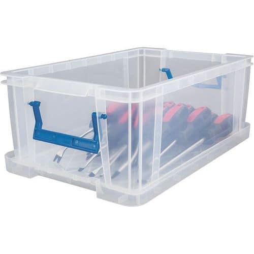 Caixa de arrumação e tampa – 10 a 70L – Manutan