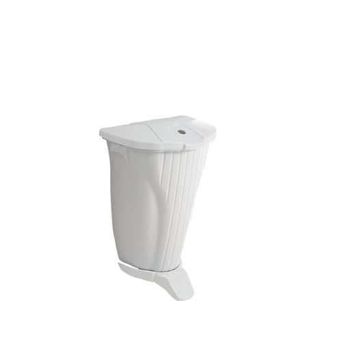Caixote de lixo de parede com pedal Wall-Up – 50L – TTS