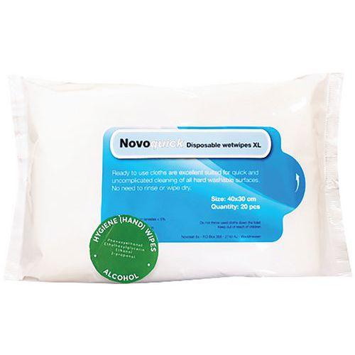 Toalhetes de limpeza – Novoquick