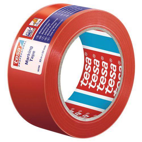 Fita adesiva em PVC plastificado para marcação temporária do pavimento 60760 – tesa