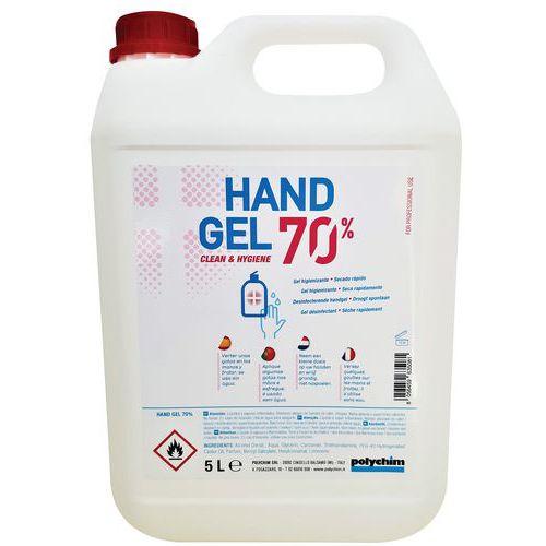 Gel hidroalcoólico desinfetante 70% – 5L