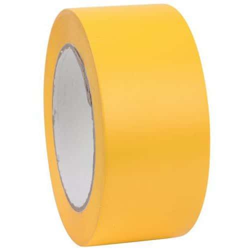 Fita de sinalização do pavimento para distanciamento social – amarelo – Dancop
