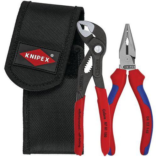 Conjunto de alicate ajustável Cobra e alicate universal – Knipex