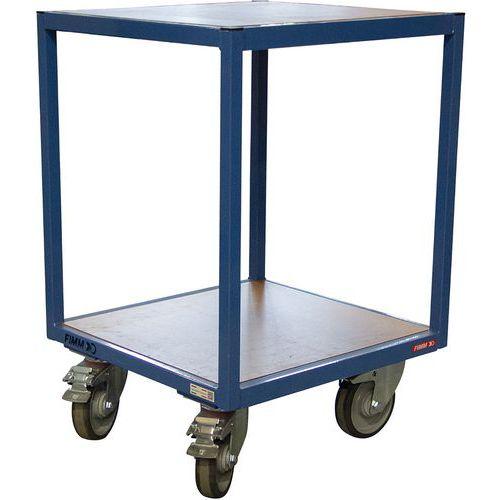 Carro com 2 plataformas de madeira – 400kg – Fimm