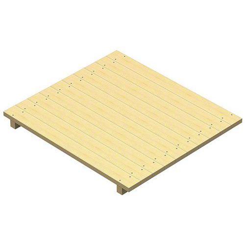 Plataforma em ripas de madeira Stock-Pallet – Mecalux
