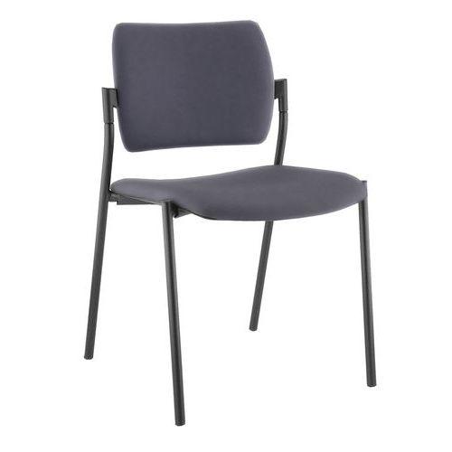 Cadeira com 4 pés fixos sem braços de apoio Amets – conjunto de 3 – Sokoa