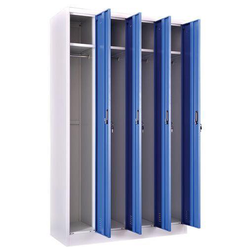 Cacifo para indústria limpa – 4 colunas – de montar – Manutan
