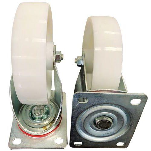 2 rodas giratórias 2 fixas – Poliamida – Manutan