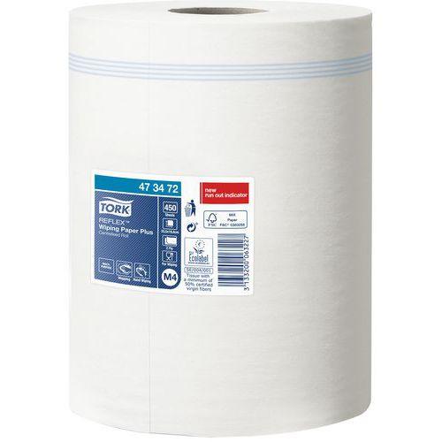 Rolo de secagem de extração central Tork Reflex Plus
