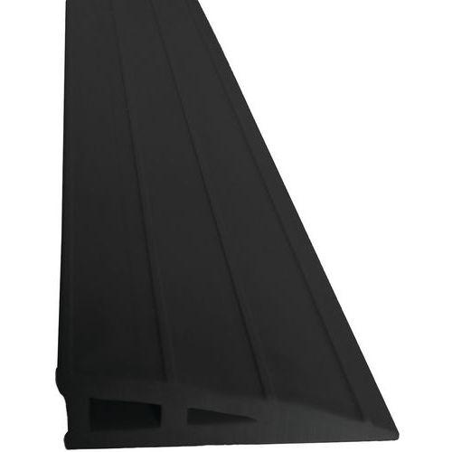 Rampa de acesso com sobreposição Waccess® – 1000mm de comprimento – autossustentada – Wattelez