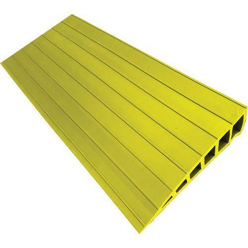 Rampa de acesso com sobreposição Waccess® – 1000mm de comprimento – Autocolante – Wattelez