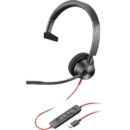 Auscultadores USB-C BW3310 com 1 auricular