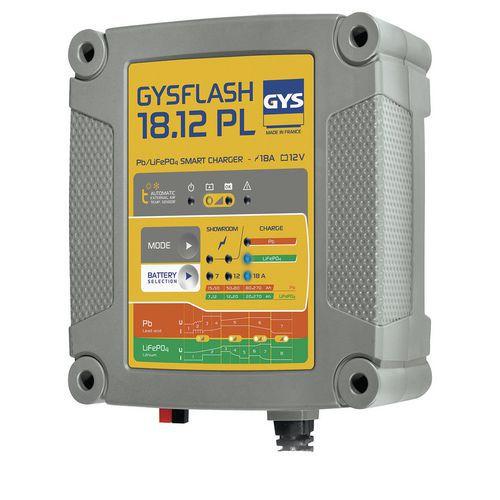 Carregador de bateria – Gysflash 18.12 PL – Gys