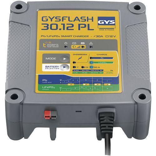 Carregador de bateria Gysflash 30.12 PL – Gys
