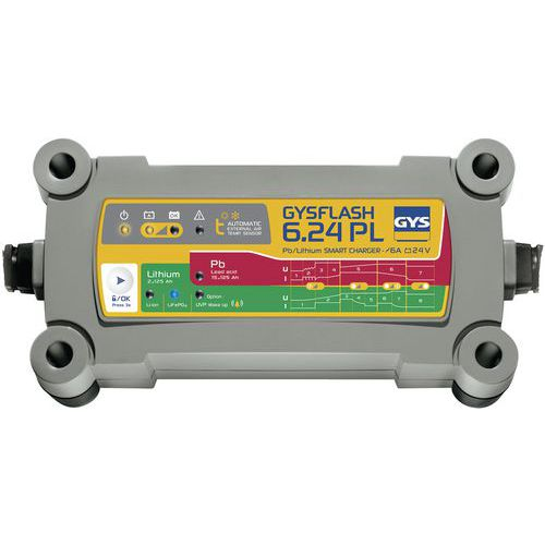 Carregador de bateria – Gysflash 6.24 PL – Gys
