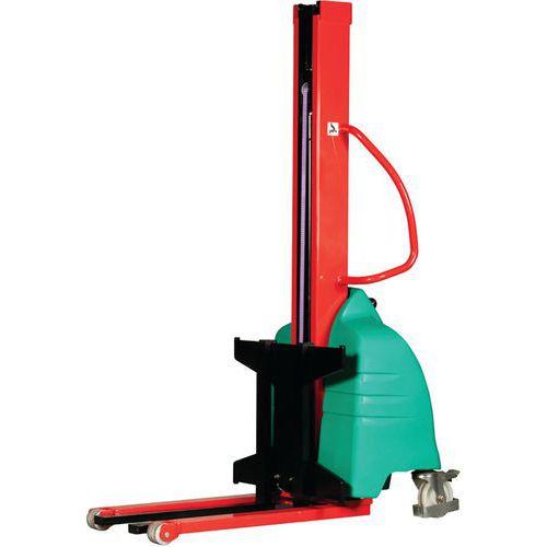 Empilhador semielétrico ergonómico – Capacidade:500 kg