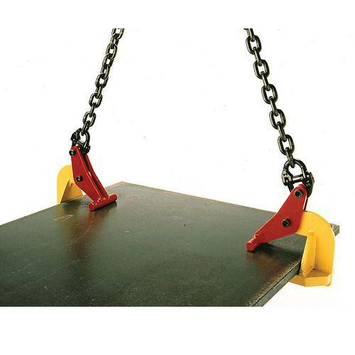Pinças para elevação horizontal – preensão de 0mm a 150mm