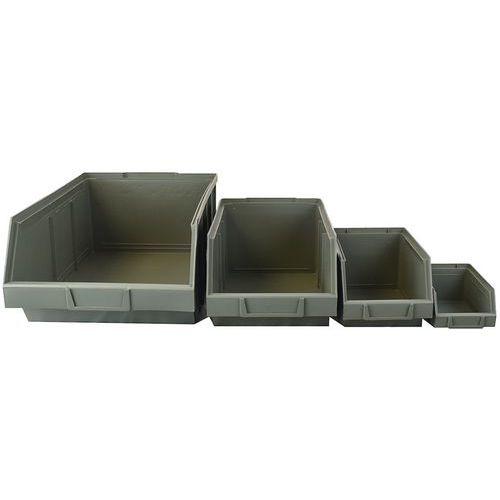Caixa de bico reciclada – 1 a 30L – Manutan