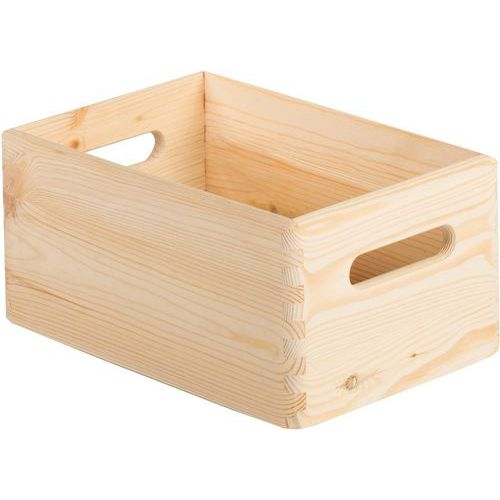 Caixa de arrumação em madeira – Comprimento de 200 e 600mm