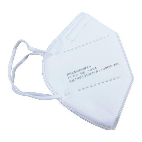 Máscara descartável Premium norma KN95 tipo FFP2 – Caixa de 10 unidades