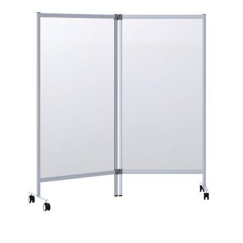 Divisórias de proteção móveis – 180cm de altura – Conjunto de 2 unidades – Paperflow