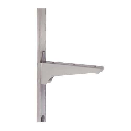 Braço de suporte de prateleira para estante médica de parede em inox