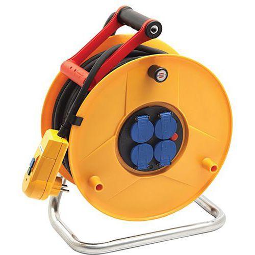 Enrolador de cabo Standard FD Pro com proteção diferencial – Brennenstuhl