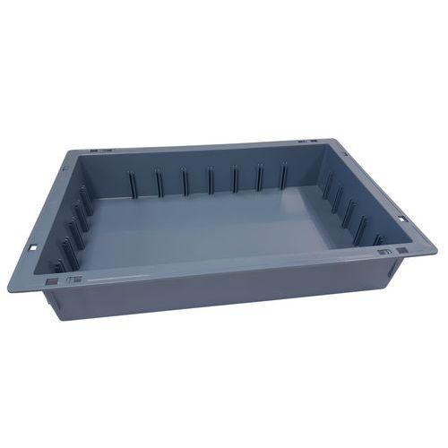 Caixa de armazém médica em ABS Iso-Stock – Integral