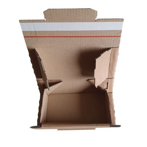 Caixa postal com fita adesiva