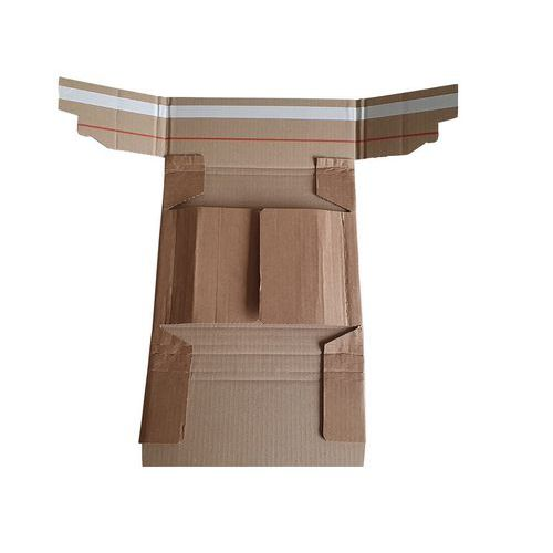 Embalagem reforçada com fecho adesivo Superpac