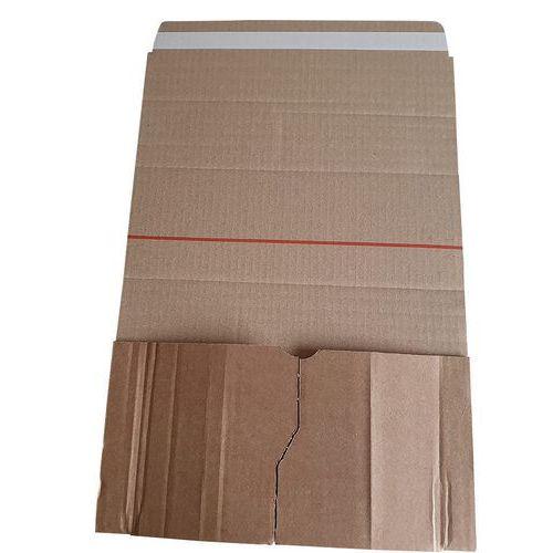 Embalagem padrão com fecho adesivo Unipac