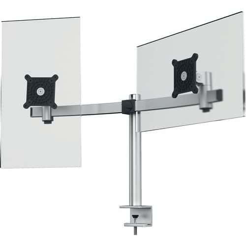Braço de suporte para 2 ecrãs – Durable