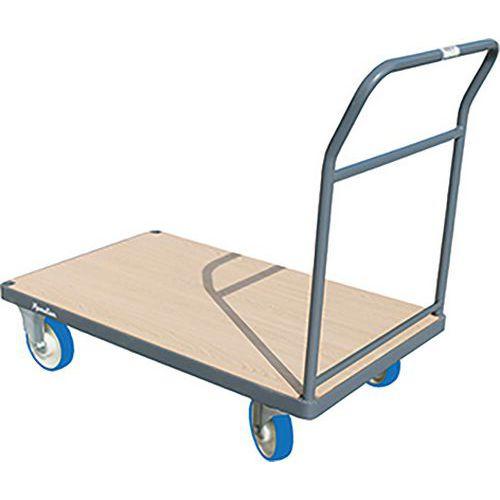Carro com espaldar fixo – Capacidade de 400 a 500kg – Manutan