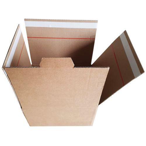 Caixa com fundo automático – Fita adesiva para ida e volta