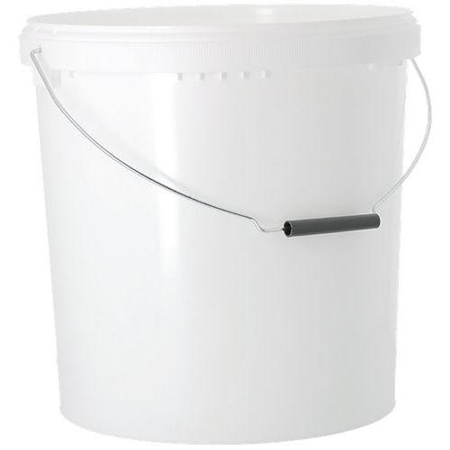 Balde de plástico – Branco – 17 a 20L