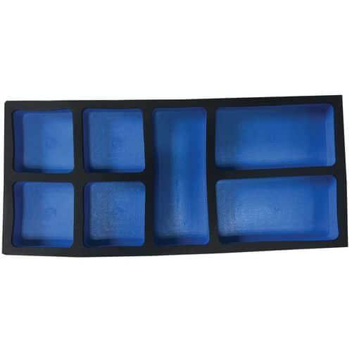 Módulo de 1/3 vazio para elementos de fixação – Manutan