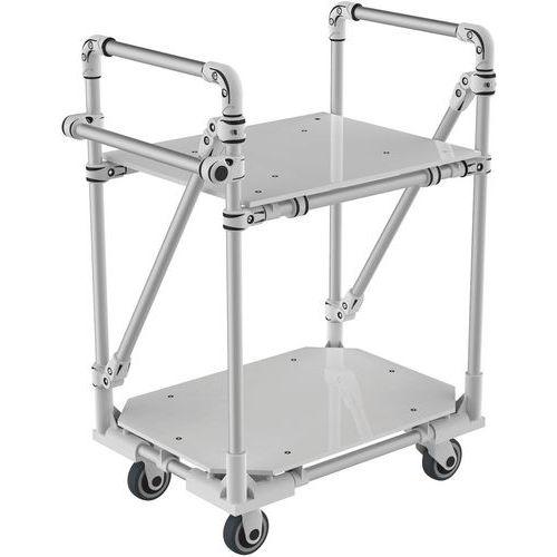 Carro modular em alumínio – 350kg – Trilogiq