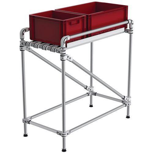 Transportador compacto em alumínio, 150kg – Trilogiq